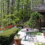 The Merton Suite's deck